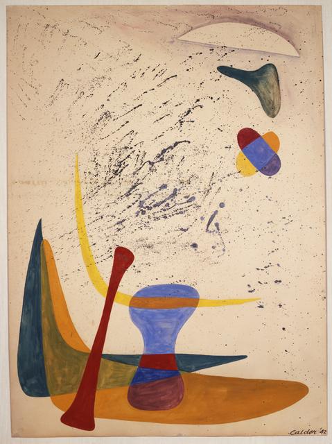 Alexander Calder, 'Untitled (Boomerangs and Bones)', 1942, Calder Foundation