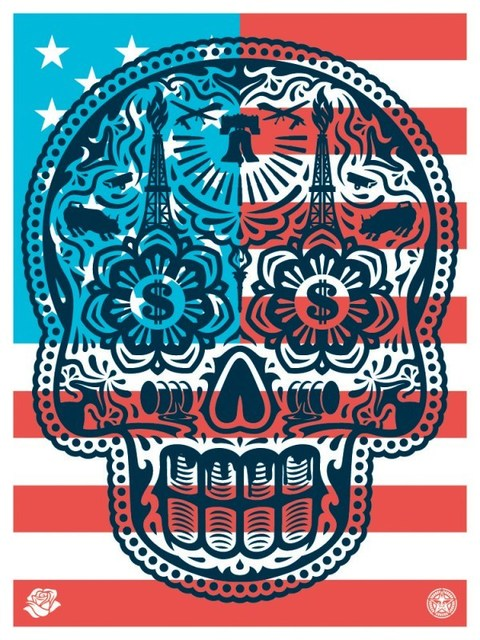 Shepard Fairey (OBEY), 'Power And Glory (Merica)', 2018, Dope! Gallery