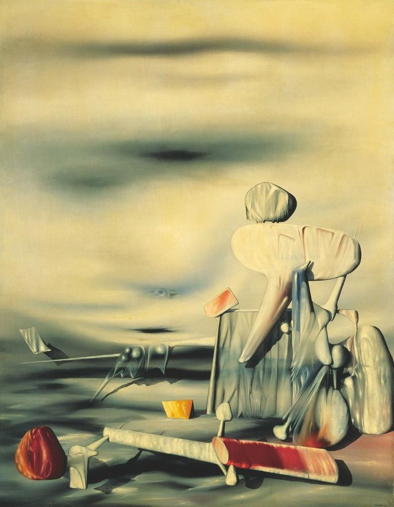 "Yves TANGUY ""Alphabet of the Wind (L'Arphabet du vent)"" 1944 Yokohama Museum of Art"