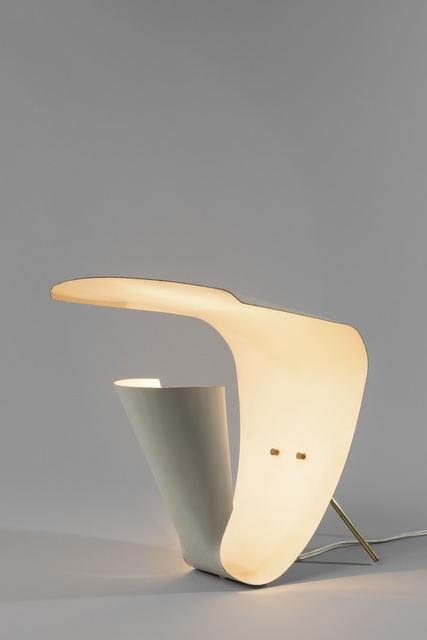 Michel Buffet, 'Lamp B201', 1952, Design/Decorative Art, Lacquered metal and polished brass, Galerie Pascal Cuisinier
