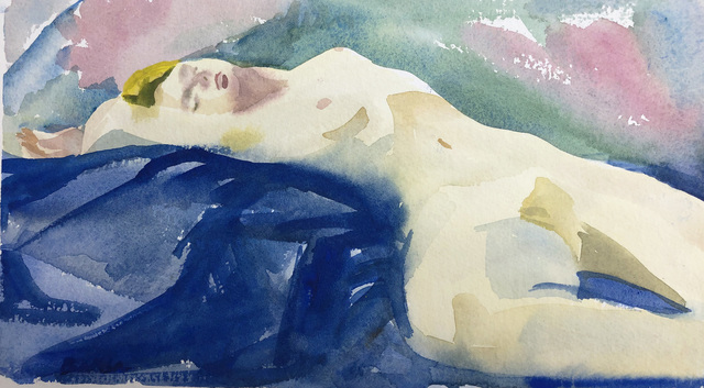 Teresa Baksa, 'Sensuality', 1994, Painting, Watercolor, Miller White Fine Arts