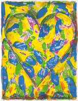 Jim Dine, The Blue Heart