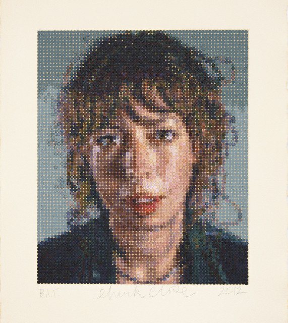 Chuck Close, 'Cecily / Felt Hand Stamp', 2012, Adamson Gallery