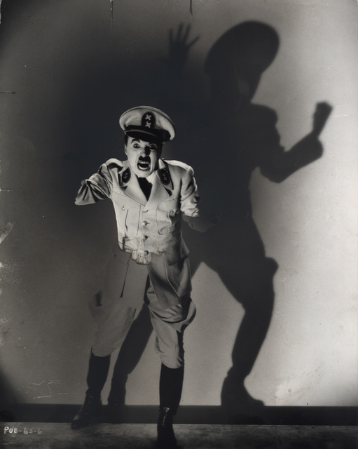 ", 'Charlie Chaplin in ""The Great Dictator"",' 1940, Steven Kasher Gallery"