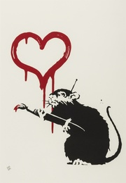 Banksy, 'Love Rat,' 2004, Forum Auctions: Editions and Works on Paper (March 2017)