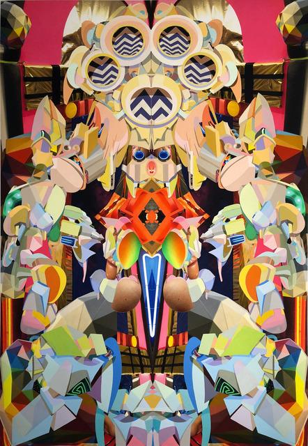 , 'Rainbow room,' 2018, LatchKey Gallery