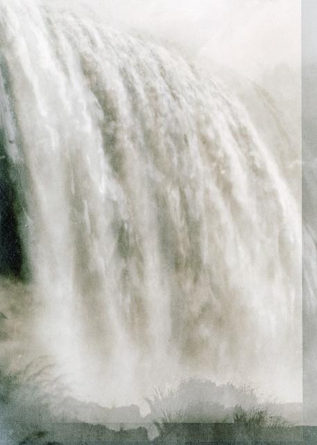 , 'Falls (Niagara III),' 2016, Galerie Kleindienst