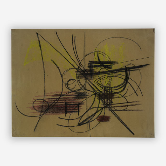 Hans Hartung, 'Abstract Composition', 1947, Capsule Gallery Auction
