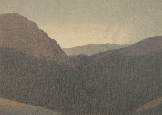 , 'THE CONTINENTAL DIVIDE,' 2000, Fitzwater Street Gallery