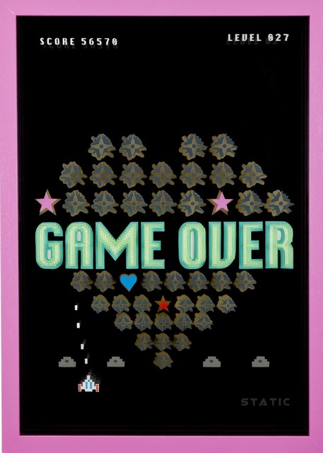 , 'Game On! - 8 Game Over,' 2016, Lawrence Alkin Gallery