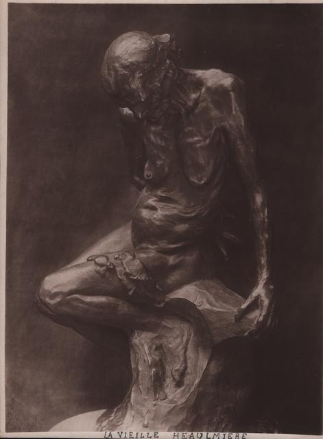, 'Rodin's La Vieille Heaulmière,' ca. 1900, Grob Gallery