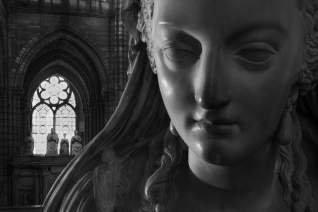 , 'St Denis Orant de Marie-Antoinette et le tombeau de François ler de Claude de France et de leurs enfants (009),' 2014, Galerie Galea