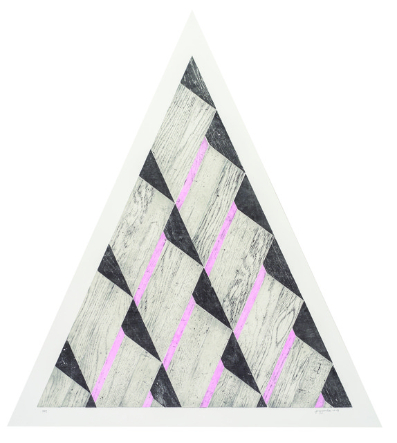 , 'Pyramid I,' 2013, Lower East Side Printshop