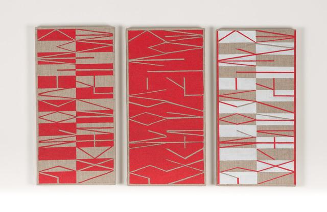 , 'Sin título (Abecedarios),' 2012-2013, Henrique Faria Fine Art