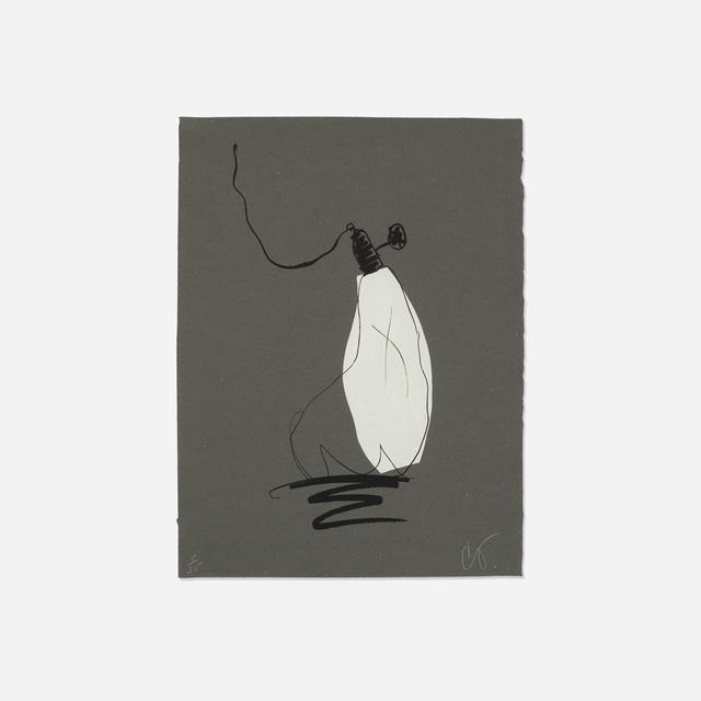 Claes Oldenburg, 'Soft Light Bulb - Night', 1997, Wright