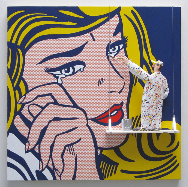 , 'Crying Girl: Lichtenstein,,' 2016, Zenith Gallery