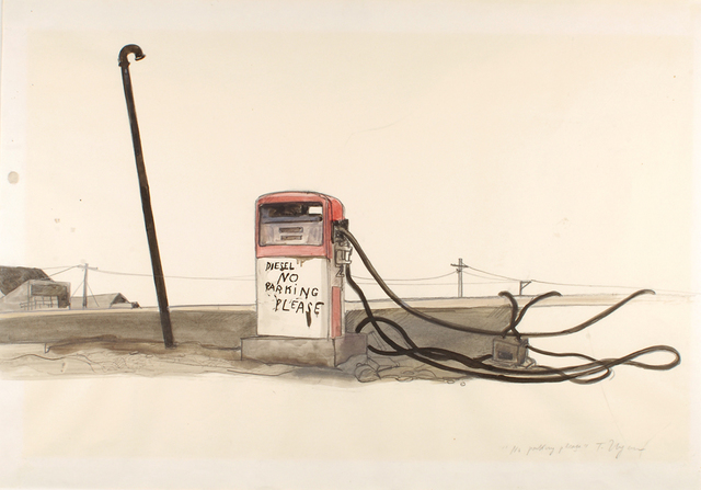 , 'No Parking Please ,' 1971-1983, Drawing Center