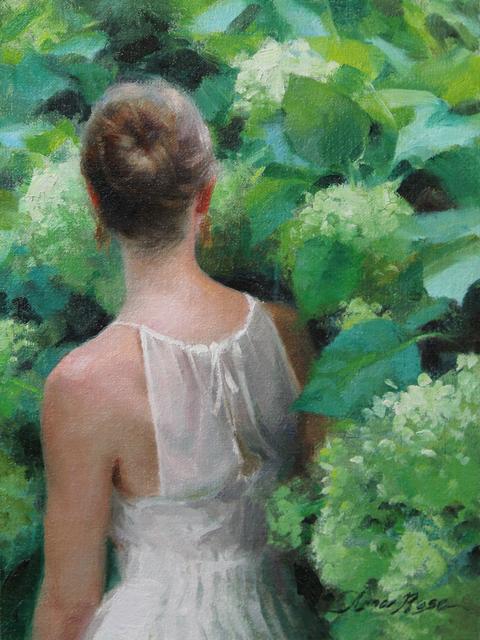 , 'Among the Hydrangeas Study,' 2015, Abend Gallery