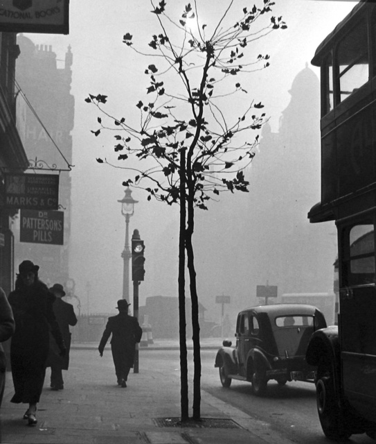 , 'Charing Cross Road from No. 84, (Marks & Co.),' 1936, Peter Fetterman Gallery