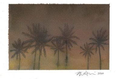 Untitled (fire palms)