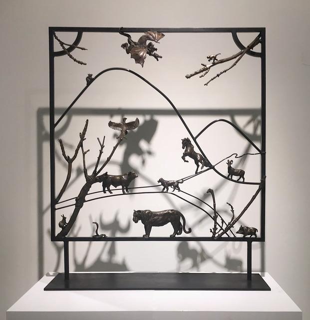 , 'The Great Race,' 2018, Mazel Galerie