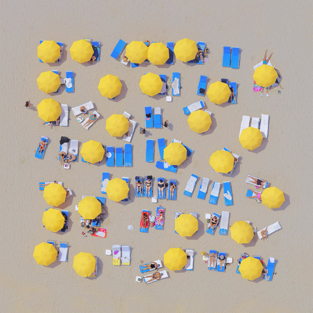 Jorge de la Torriente, 'Yellow Umbrellas ', 2019, Think + Feel Contemporary