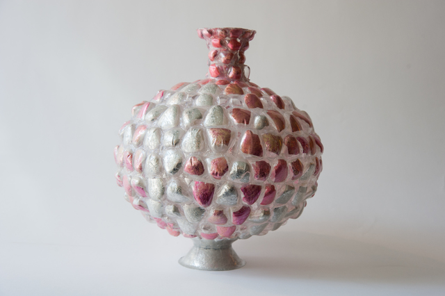 , 'Pink and Silver Vessel,' 2014, Todd Merrill Studio