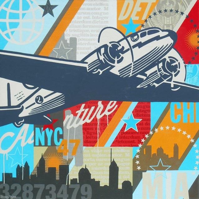 Johnny Taylor, 'Age of Flight #23', 2016, Artspace Warehouse