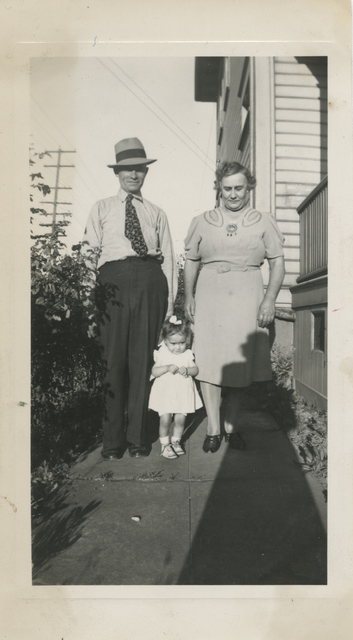 , 'Untitled [Shadow, parents with daughter],' , Fraenkel Gallery