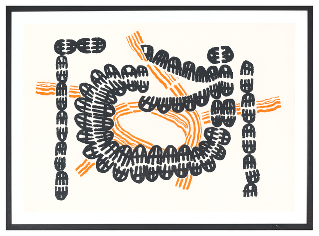 , 'Litografia #102(Opale nr. 2),' 1971-1972, Glenda Cinquegrana Art Consulting