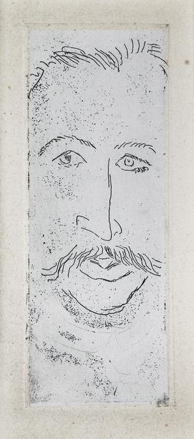 , 'Portrait de Walter Pach,' 1914, Lyndsey Ingram