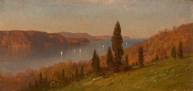 , 'View of the Hudson,' , Questroyal Fine Art