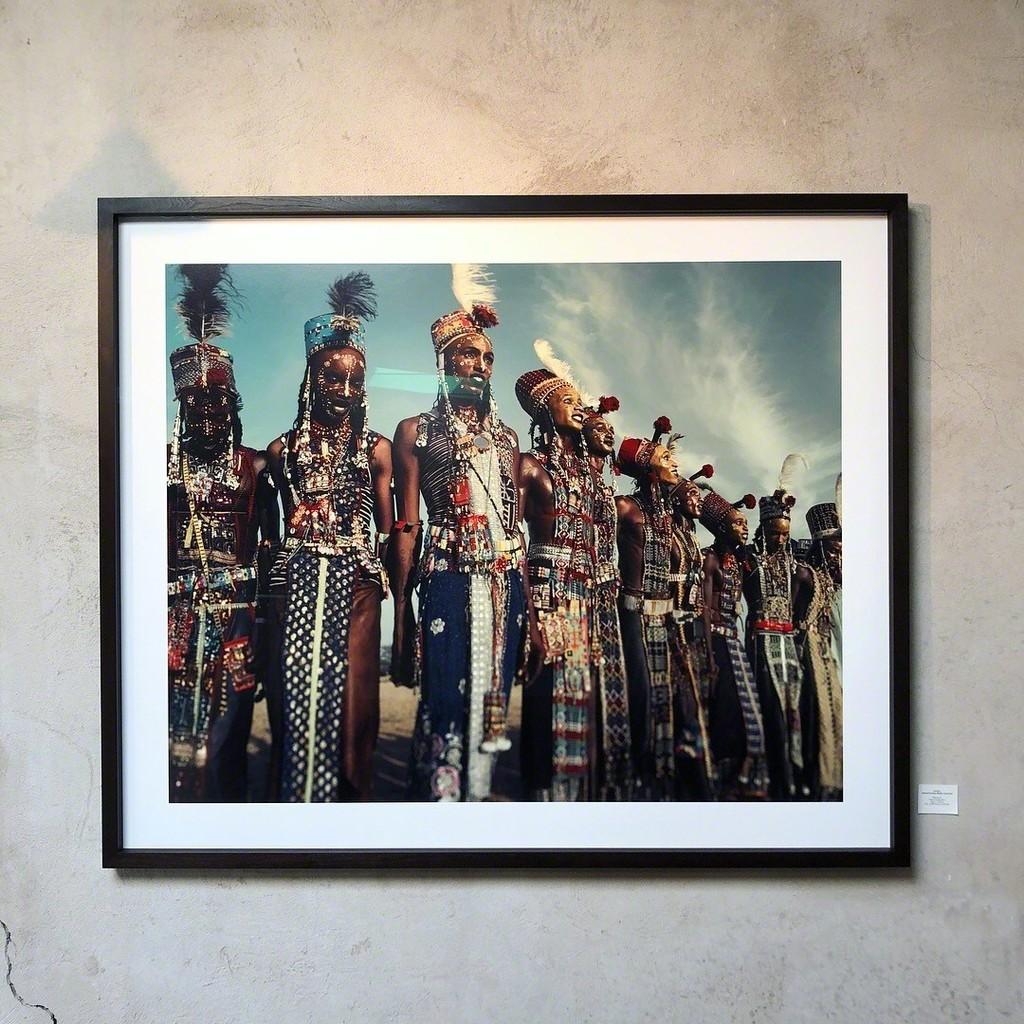 Gerewol Festival, Bossiio Chad 2016 Edition 3 140*170cm Archival Print