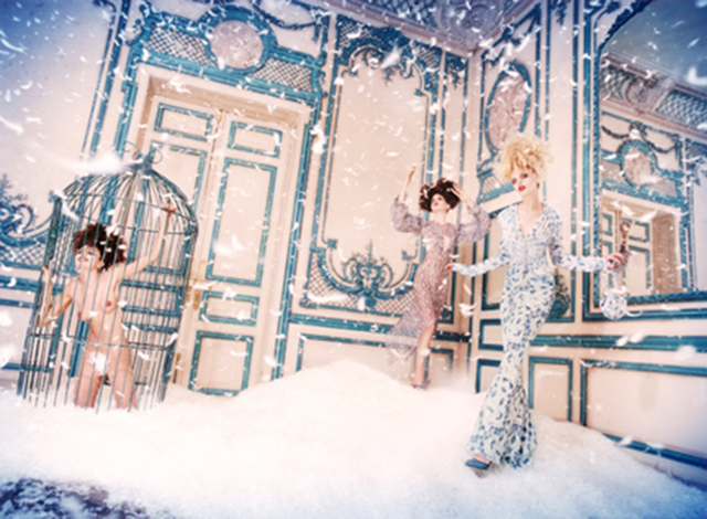 David LaChapelle, 'Snow Day', 1996, Staley-Wise Gallery