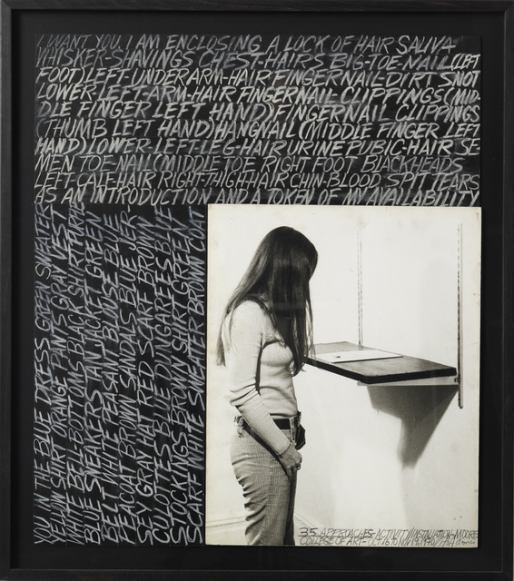 , '35 Approaches,' 1970, Galleria Fumagalli