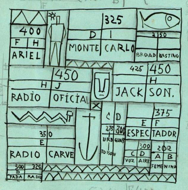 , 'Constructivo Emisoras Radiales C,' 1939, Galeria Sur