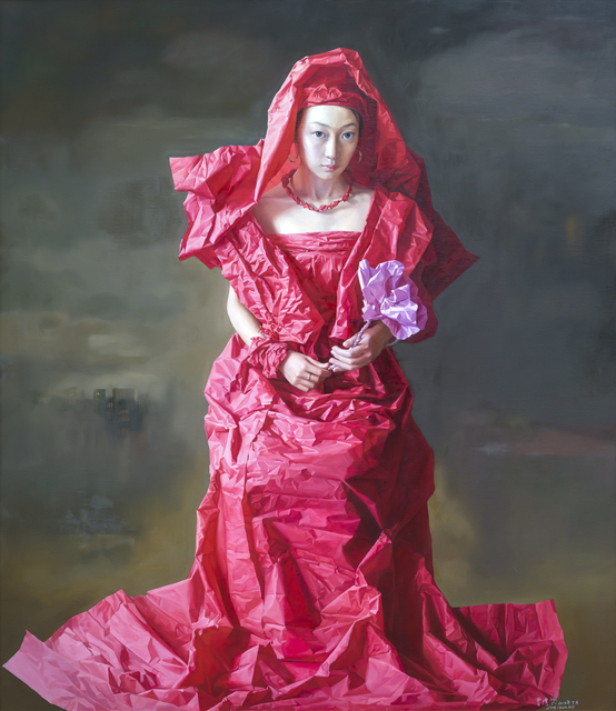 , 'Red Paper Bride,' 2010, Tanya Baxter Contemporary