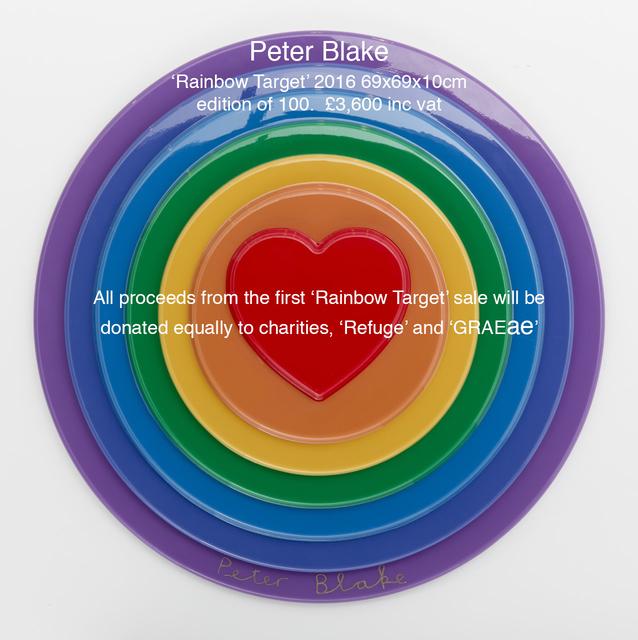 Peter Blake, 'Rainbow Target', 2016, Paul Stolper Gallery