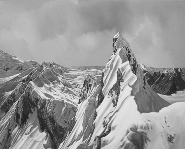 Hervé Heuzé, 'Mont-Blanc 5', 2019, Galerie Richard