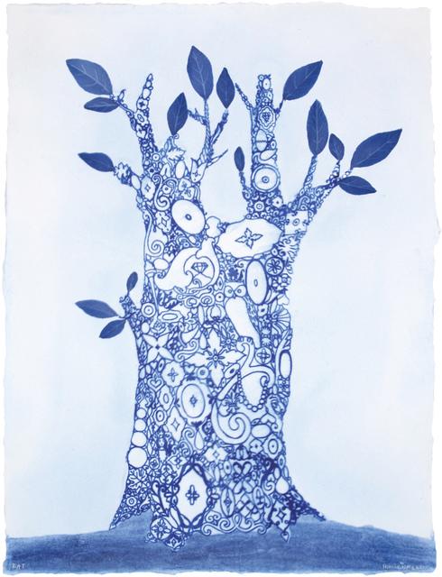 , 'Blue Ware Ornamental,' 2008, Dieu Donné