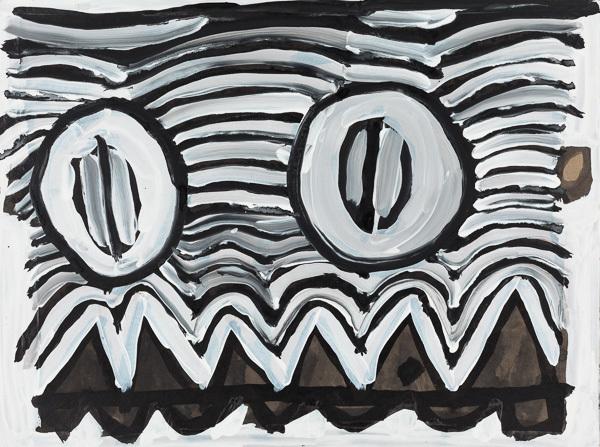 , 'Monster Face,' 2017, Creativity Explored