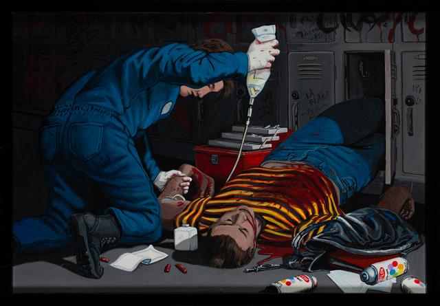 , 'The Murder of Michael Sheen Ensley –Reseda High School, Feb. 22, 1993,' 1993, Track 16 Gallery