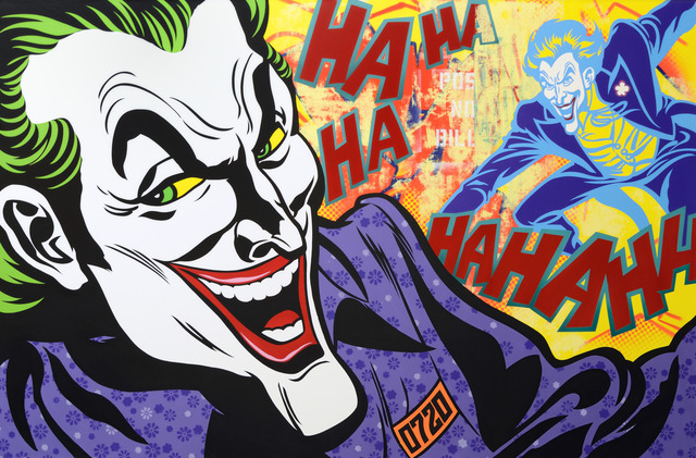 , 'The Joker keeps laughing,' 2014, Opera Gallery