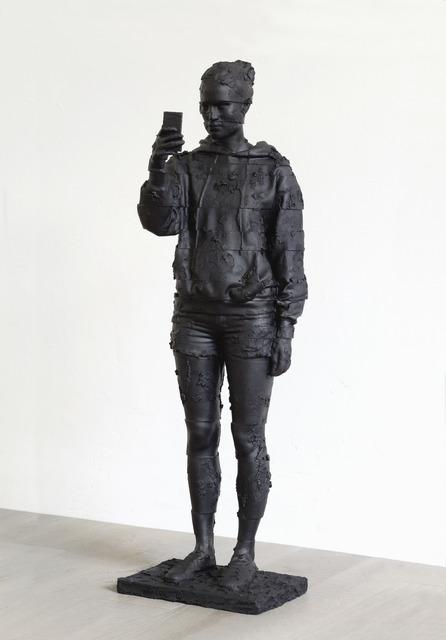 , 'Black Selfie,' 2016, Opera Gallery