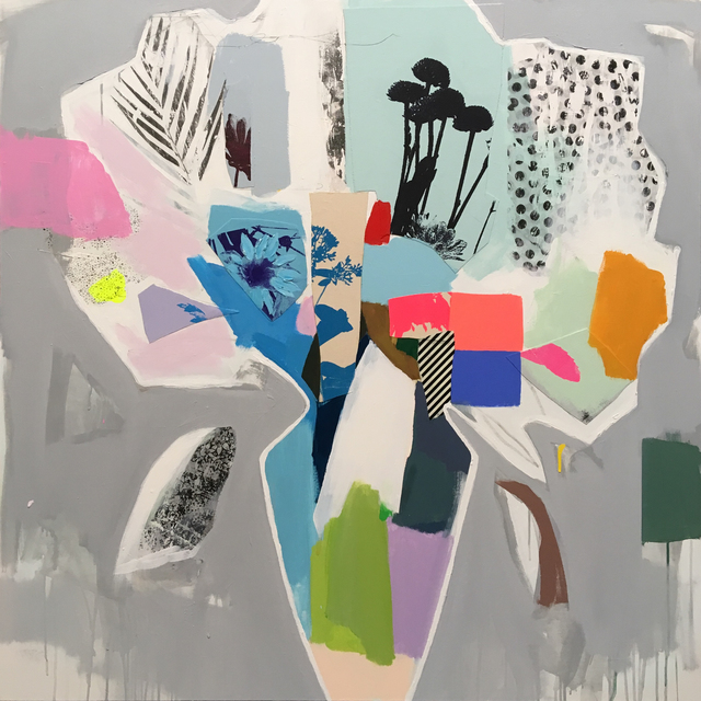 , 'Bouquet (colour block),' 2018, Newzones