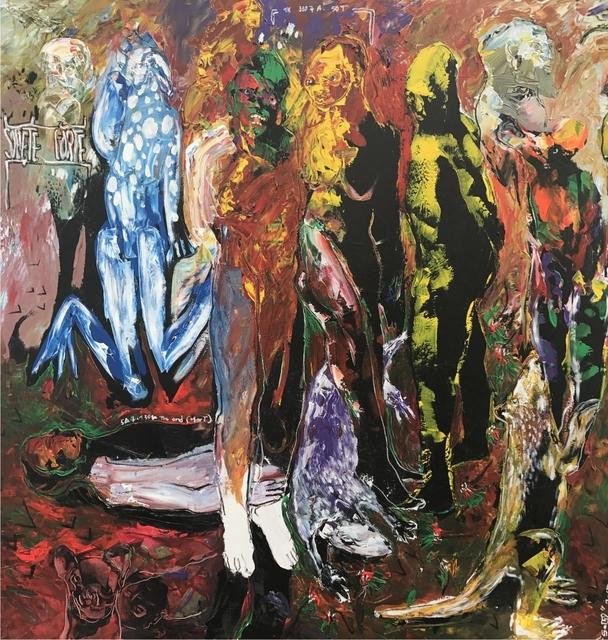 , 'Des Hommes et Des Vies III ,' 2017, Sulger-Buel Lovell