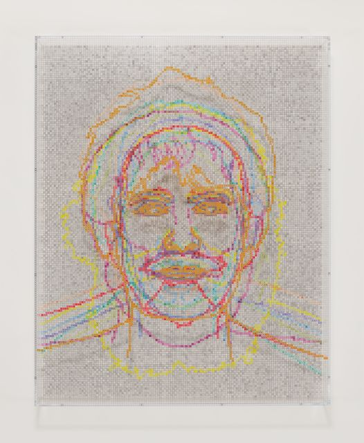 , 'Faces 1: Identity Politics, #9, Luce Irigaray,' 2018, Hauser & Wirth
