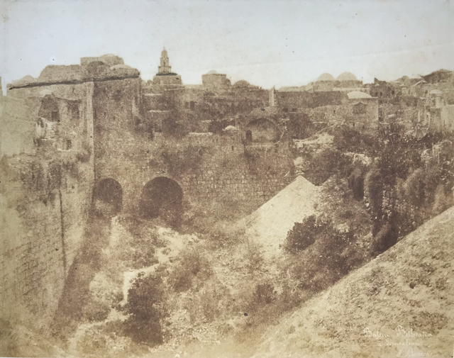 Ernst Benecke, 'Pool of Bethesda (Bassin Bethsaida), Jerusalem', 1852, Vision Neil Folberg Gallery