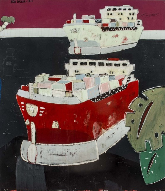 , 'Smoky Rum and Coke Inside That Container,' , Rebecca Hossack Art Gallery
