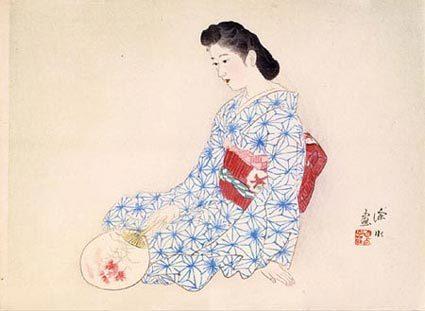 Itō Shinsui, 'Ideal Japanese Woman', ca. 1942, Scholten Japanese Art